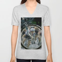 Bike race Unisex V-Neck