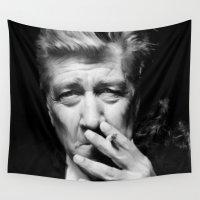 lynch Wall Tapestries featuring David Lynch by Tia Hank