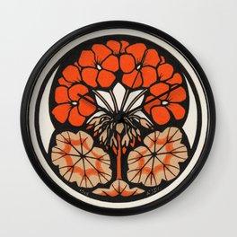 East Indian Cherry (1916) by Julie de Graag (1877-1924) Wall Clock