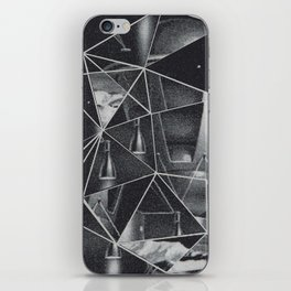 cosmico fantastico iPhone Skin