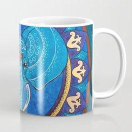Wisdom - Elephant mandala Coffee Mug