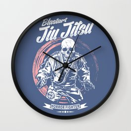 Jiu jitsu Horror Fighter Wall Clock