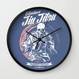 Jiu jitsu Horror Fighter Wall Clock