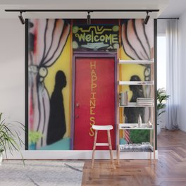 Welcome to Happiness Wall Mural