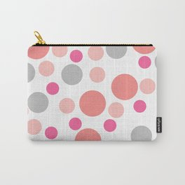 Pink cute dots Carry-All Pouch