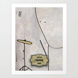 Tiomh from Nullom (drum) Art Print