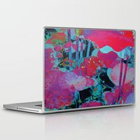 marx Laptop & iPad Skins featuring Flora Celeste Agate Lotus  by Meteora
