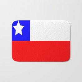 Flag of Chile Bath Mat