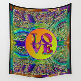 LOVE IN THE TIME OF ART DECO Wall Tapestry