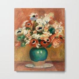 Pierre-Auguste Renoir - Flowers (Fleurs) Metal Print