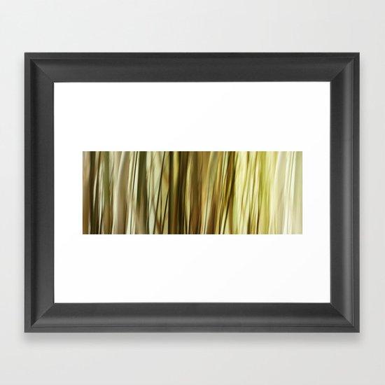 Lost In Grass Framed Art Print