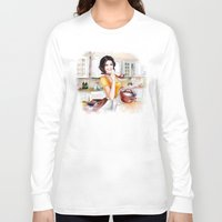 cook Long Sleeve T-shirts featuring cook by tatiana-teni