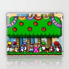 Super Mario World Happy Ending Laptop & iPad Skin