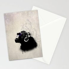 Monkey Tripping Stationery Cards