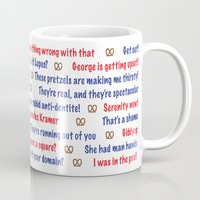 seinfeld Mugs featuring Seinfeld quotes by Dr. Spaceman40