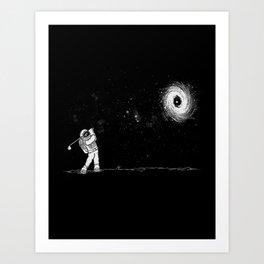 Black Hole in One Art Print