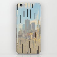 dallas iPhone & iPod Skins featuring Dallas by Cale potts Art