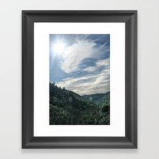 Angel's Camp Framed Art Print