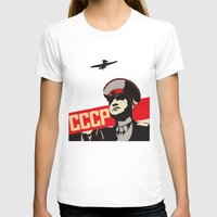 soviet T-shirts featuring SOVIET RED ARMY by Sofia Youshi