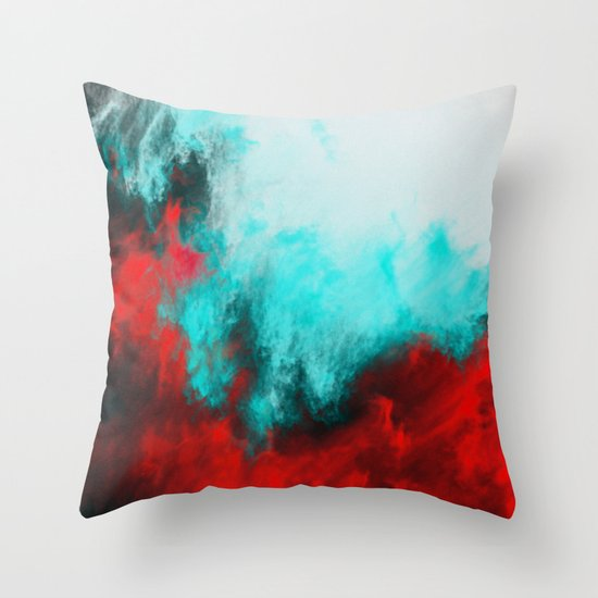 Painted Clouds III.1 Throw Pillow