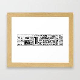 Verge Graphic Framed Art Print