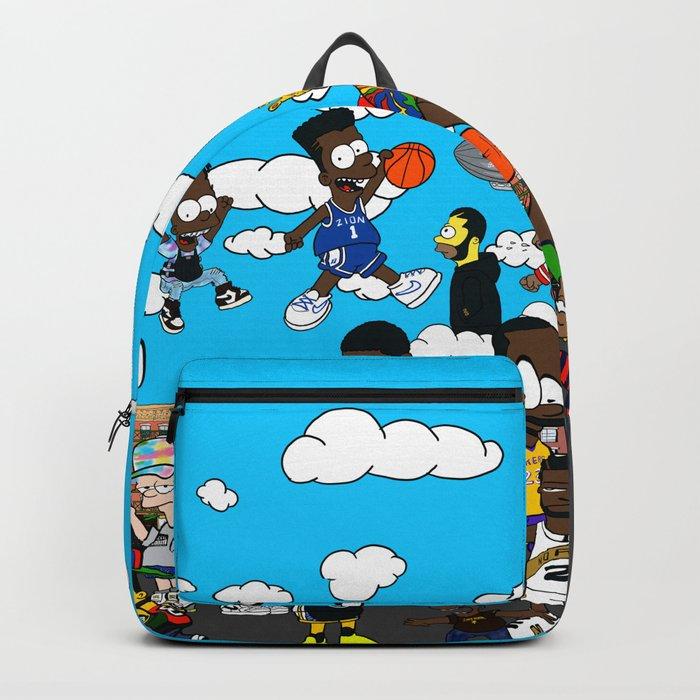 Finals  Bootleg B-ART Mural Backpack