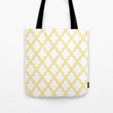 Yellow Moroccan Tote Bag