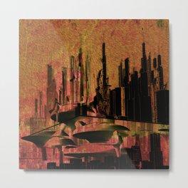Wang city Metal Print