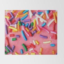 Sugary Sprinkles Throw Blanket