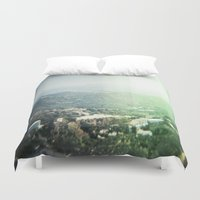 hollywood Duvet Covers featuring Hollywood by Joëlle Paquet