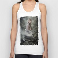 mother of dragons Tank Tops featuring Mother of Dragons by Flo Tucci