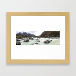 River Cold Framed Art Print