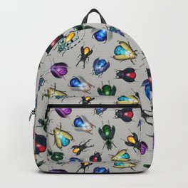Colorful Mineral Beetles Backpack