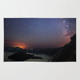 Crater Lake Galaxy Rug