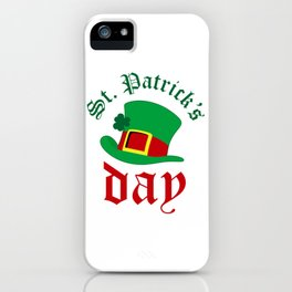 St.Patrick's day iPhone Case