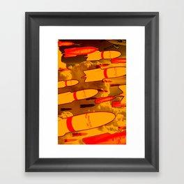 Rockets Man Framed Art Print