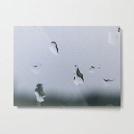 Raindrops like teardrops Metal Print
