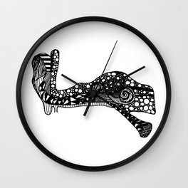 Sound Passage - The Ear Wall Clock