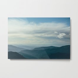 Cedar Breaks Blue Metal Print