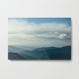 Cedar Breaks Blue Metal Print