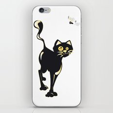 Cat and Fly iPhone & iPod Skin