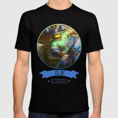 League Of Legends - Olaf Mens Fitted Tee Black MEDIUM