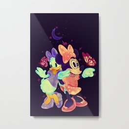 Viewtiful Expressions Metal Print