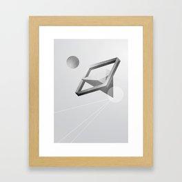 Space three Framed Art Print