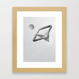 Space three Framed Art Print