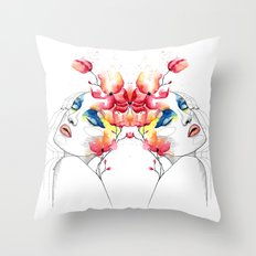 True colors Throw Pillow