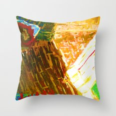 i n t h e c o r n e r Throw Pillow