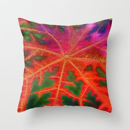 Leaf Incredible Throw Pillow