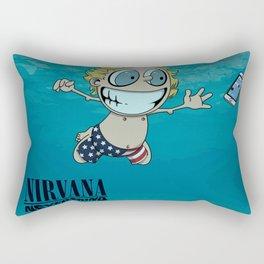 Nevermind Rectangular Pillow