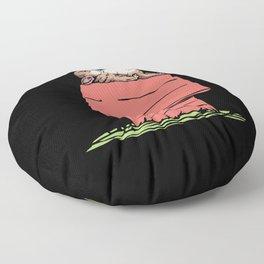 French Bulldog House Floor Pillow